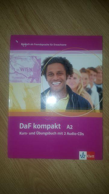 Książka do nauki języka niemieckiego - DAF KOMPAKT A2+2CD - Klett