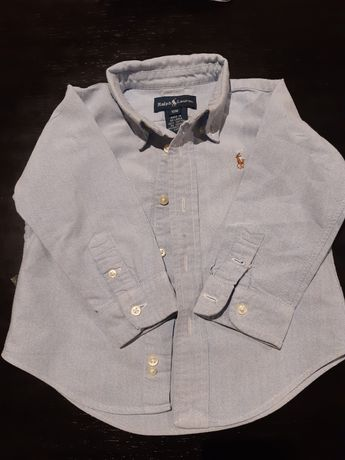 Camisa Ralph Lauren 12 meses