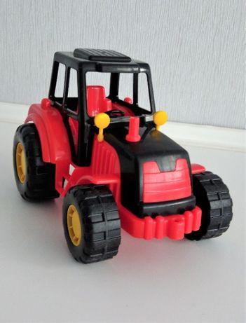 Детская игрушка Трактор Мастер, красный, Полесье.