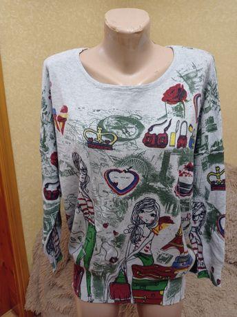 Стильный свитшот, свитер