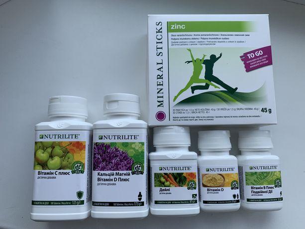 Amway NUTRILITE  витамины бады амвей. Витамин C,D,B,E