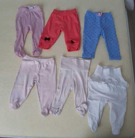 Spodnie, półśpiochy H&M, Pinokio 56,62.
