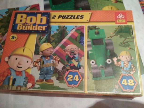 Puzzle Bob budowniczy 24+48