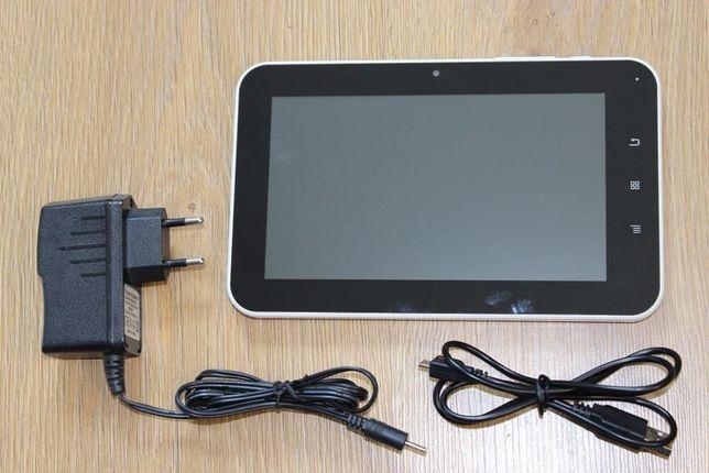 TABLET PC FUNTAB 7.0 biały komplet ładowarka kabel usb PL