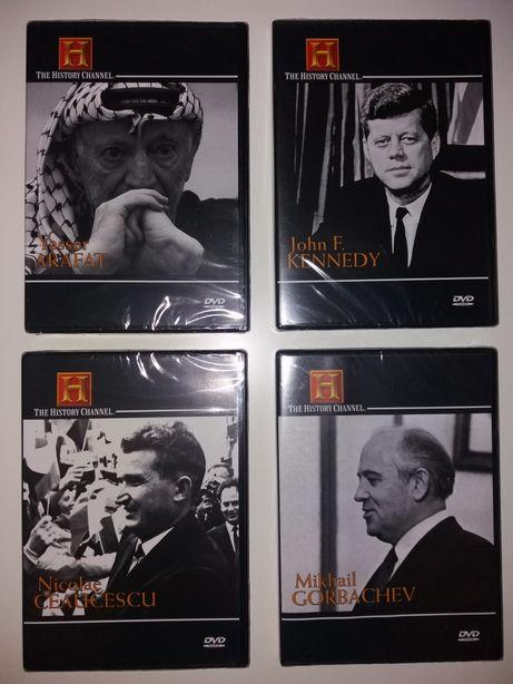 DVDs Canal História - Políticos do Século XX