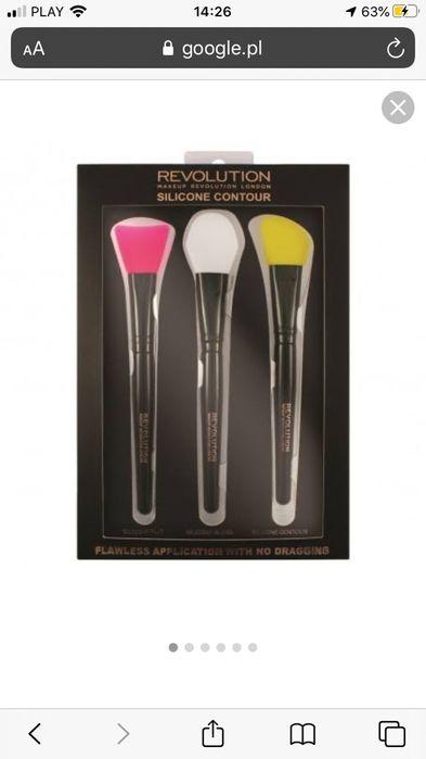 Makeup Revolution Silicone Contour Set Pędzle do makijażu Żabno - image 1