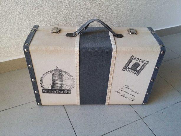 Mala Viagem Decorativa Vintage