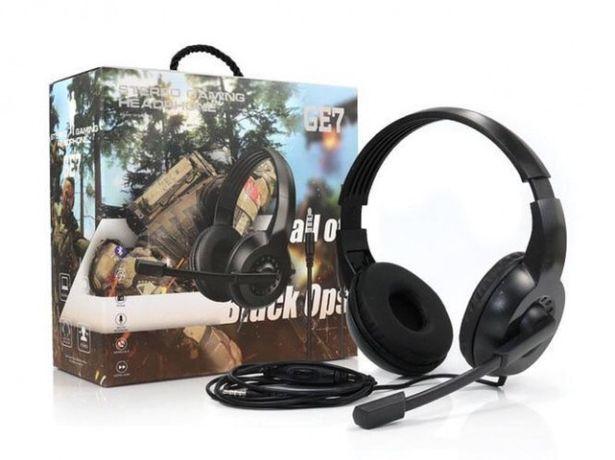 Наушники накладные проводные игровые с микрофоном GE7 9548