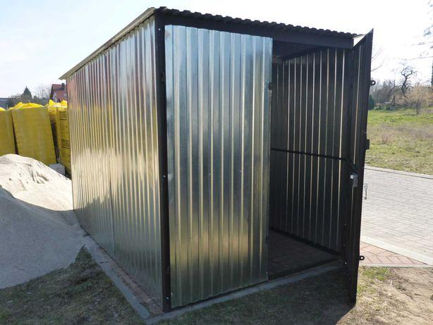 GARAŻ na budowę Blaszak Schowek budowlany ocynkowany Garaże PRODUCENT