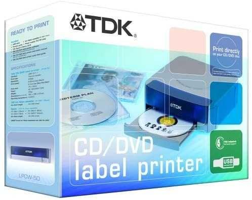 Impressora p/ CD/DVD TDK Label LPCW-50