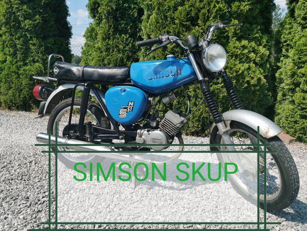 Skup Simson Simony S51 s50 śr 50 schwalbe duo enduro mz etz komar jawa