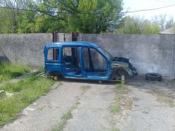 Кузов Четверть Половина Кузова Крыша Renault Kangoo Рено Кенго