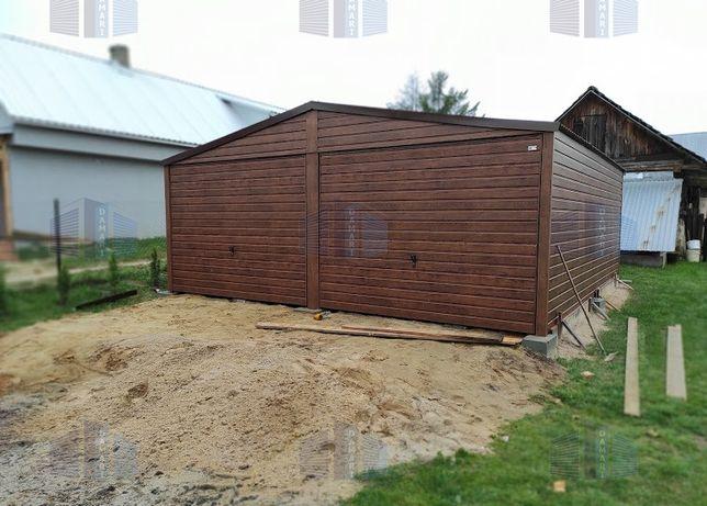 Garaże blaszane: 6x6 i każdy inny wymiar- producent, standard PREMIUM