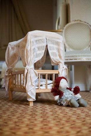 Деревянная эко кроватка Истинные ценности