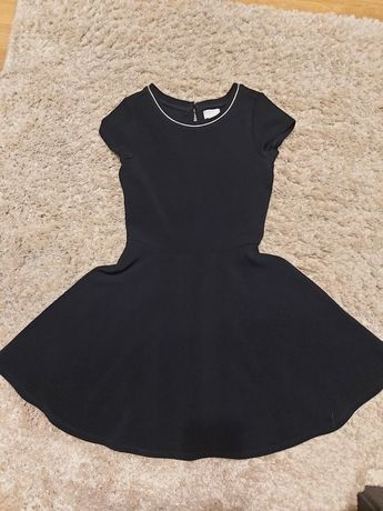 Klasyczna granatowa sukienka 146
