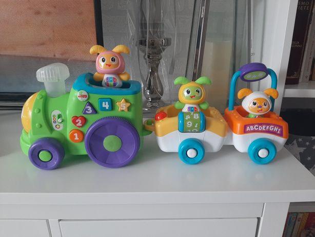 Interaktywna zabawka Pociąg BeBo od Fisher-Price