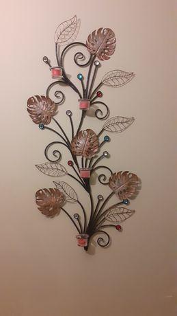 Castiçal de parede para decoração