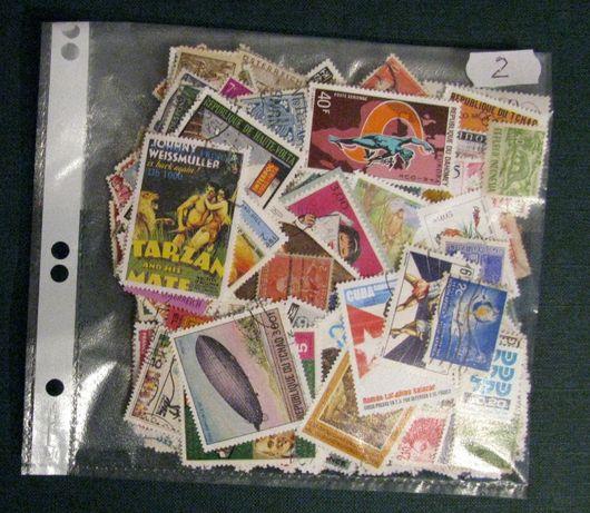 Znaczki , pakiet 500 znaczków, cały świat