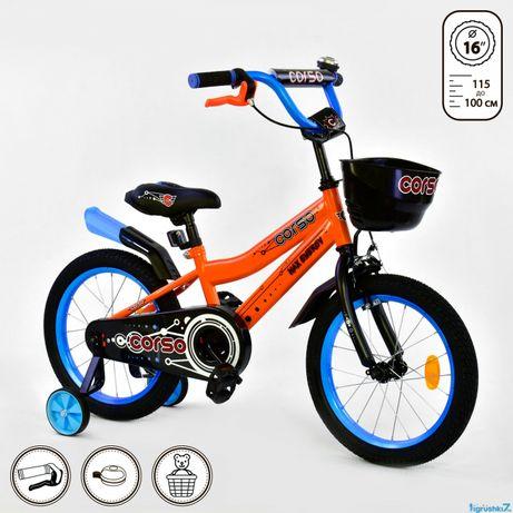 """Велосипеди 16"""" CORSO"""