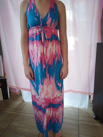 Sukienka na lato w plamki