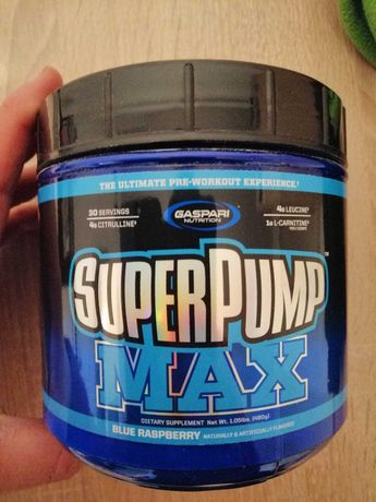 Super Pump Max Gaspari Blue Raspberry