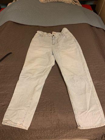 Jeansy Primark spodnie + spodenki  luźny styl 44 ( 16 )