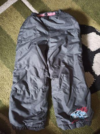 Ocieplane spodnie zimowe 2-3 latka