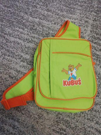 Kubuś plecak szkolny na ramię tornister zielony pierwsza klasa Nowy