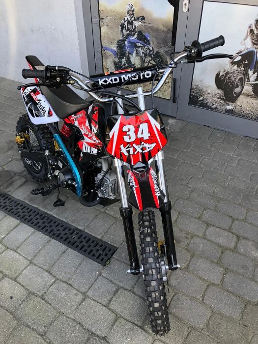 Cross/Pitbike 607M 125cc koła 12'/14' KXD Gniezno - image 1