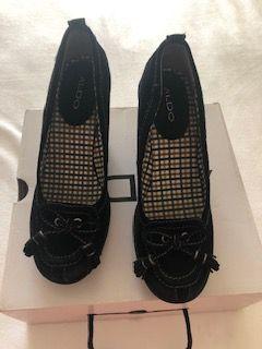 Sapatos de cunha Aldo tamanho 40