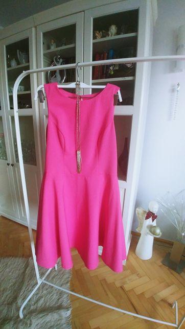 Sukienka MOHITO w kolorze różu/fuksji Rozmiar 38
