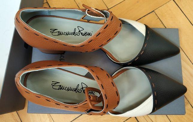 Новые туфли женские EMANUELA PASSERI, натуральная кожа, Италия
