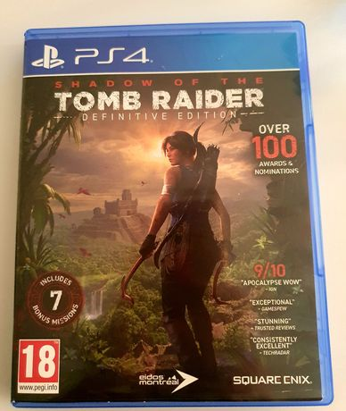 Shadow of the Tomb Raider Definitive Ed PL PS4