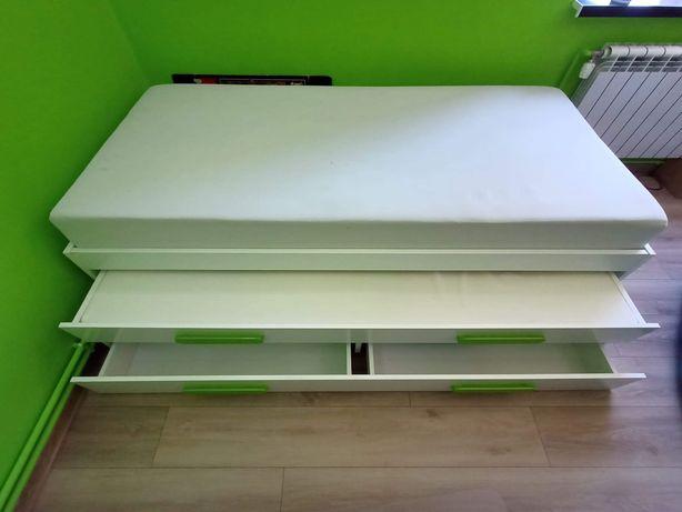 Łóżko Replay 2w1 rozsuwane Agata Meble zielone