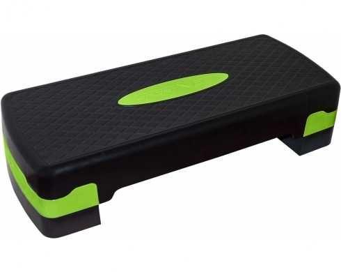 Степ-платформа 2-ступенчатая SportVida черный