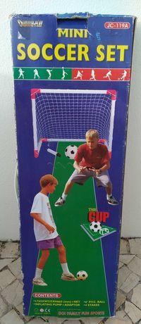 Baliza de futebol para crianças desmontável