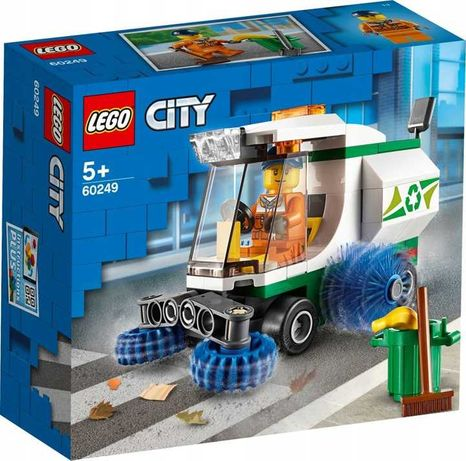 60249 LEGO City - Zamiatarka