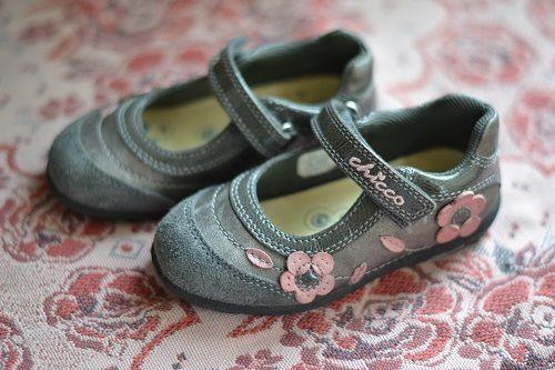 Туфли Chicco Чикко для девочки, 24 размер
