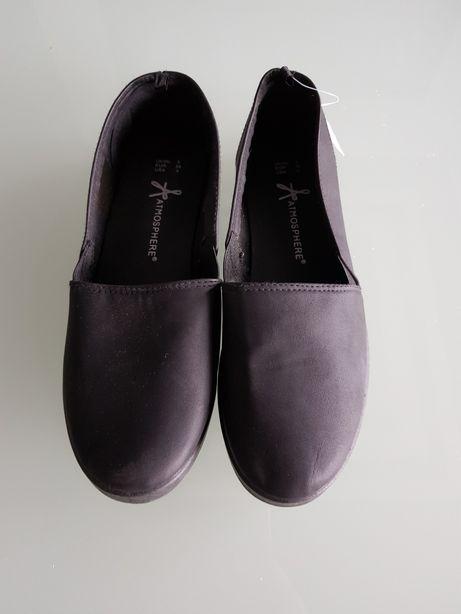 Buty espadryle czarne rozmiar 38