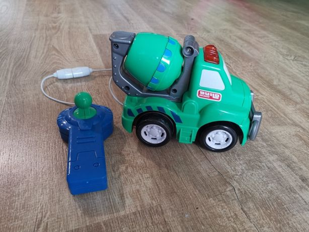 Smiki, betoniarka, pojazd zdalnie sterowany