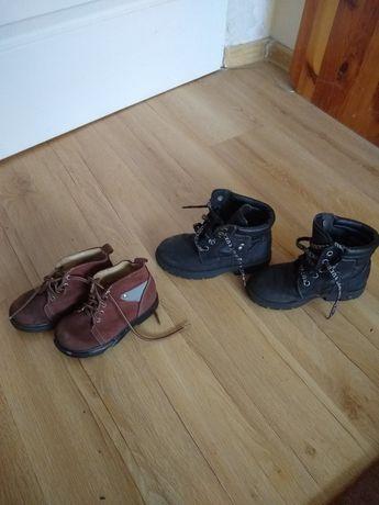 Sprzedam wysokie buty dziecięce że skóry nr.26 oraz 29