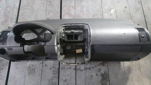 Kokpit deska rozdzielcza Vw Polo 9n okular poduszki air bag