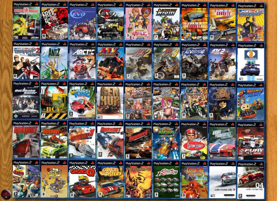 [PS2] 350 Jogos CORRIDAS (Carros, Motas, etc) (Vendo à Unidade) Penha De França - imagem 1