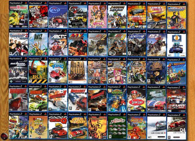 [PS2] 350 Jogos CORRIDAS (Carros, Motas, etc) (Vendo à Unidade)