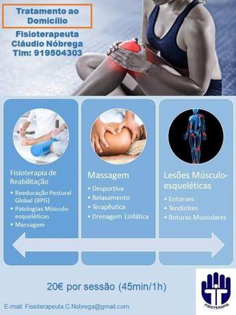 Fisioterapia ao Domicílio Porto