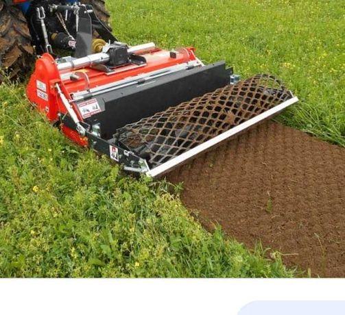 Usługi glebogryzarką, koszenie obszarów zielonych, odśnieżanie