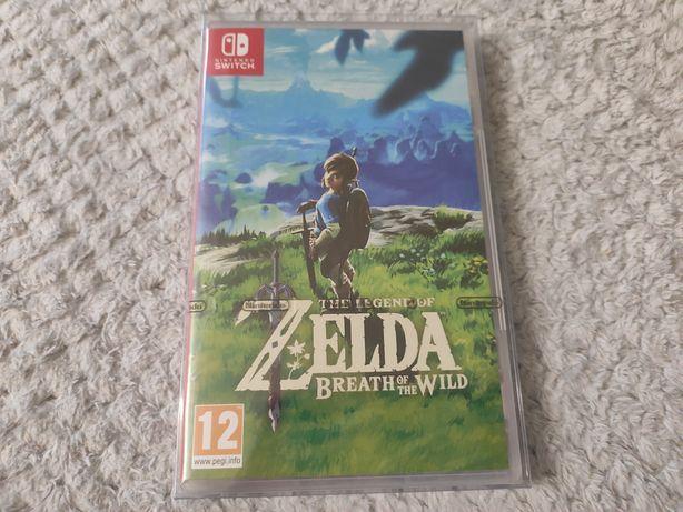 Zelda Breath Of The Wild Switch Nowa Folia + Protektor