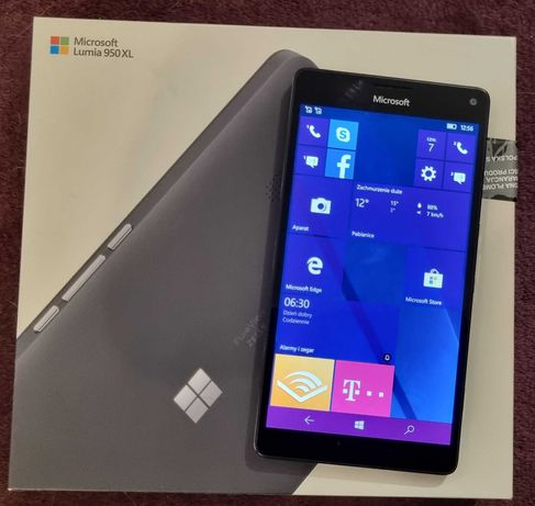 Telefon Microsoft Lumia 950XL Dual SIM pudełko akcesoria