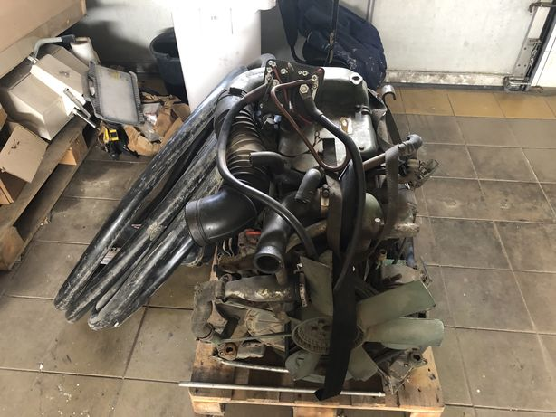 Silnik kompletny po remoncie skrzynia biegów Mercedes 508 Diesel OM314