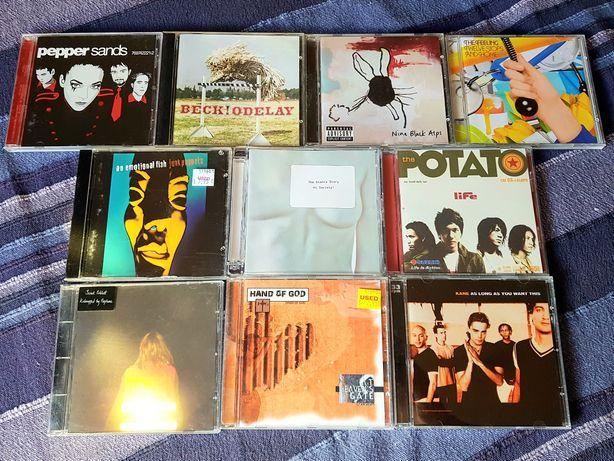Lote de 10 CDs - Rock Alternativo (Portes Grátis)